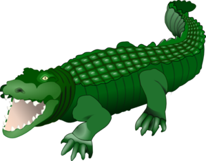 299x234 Alligator clip art a clipart cliparts for you