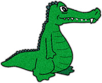 200x164 Top 65 Alligator Clip Art