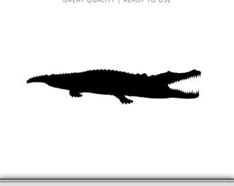 340x270 Alligator Clipart Etsy