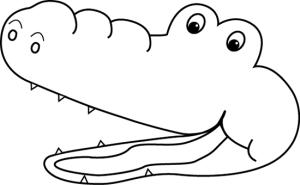 300x185 Lips Clipart Black And White