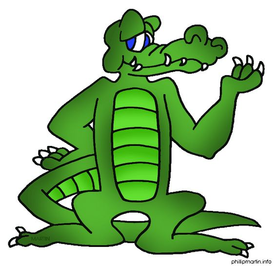 564x545 Free Holiday Gator Clipart