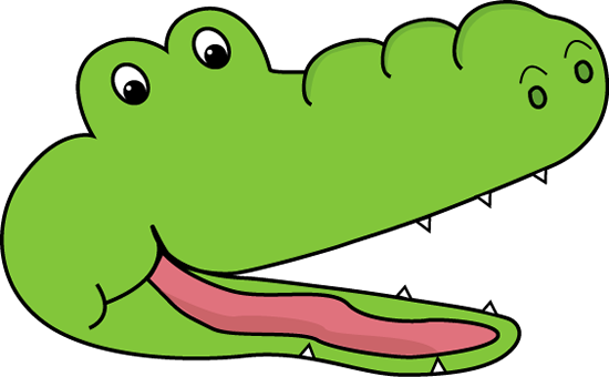 550x340 Cute Alligator Clipart