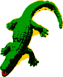 246x299 Alligator Clip Art