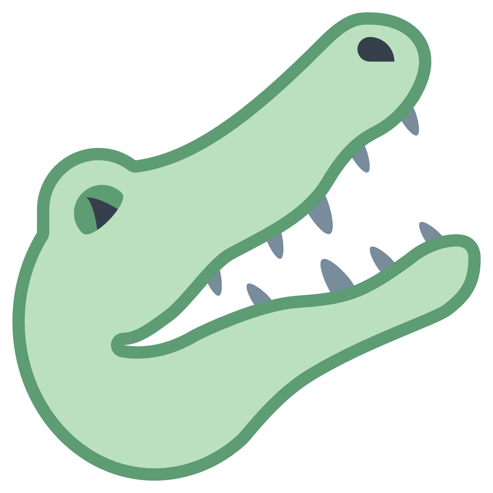 1600x1600 Alligator Clipart Transparent