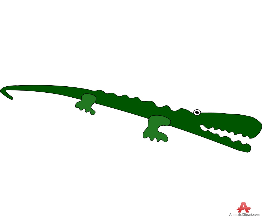 999x833 Crocodile Long Alligator Clipart Free Design Download
