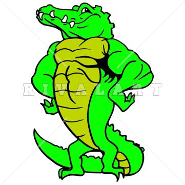 Alligators Clipart
