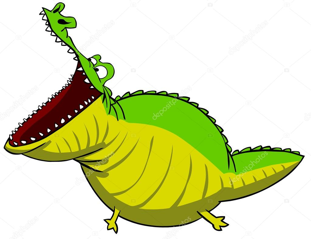1023x787 Croc Mouth Open Mouth Clipart