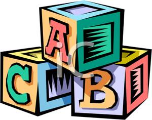 300x237 Stack Of Alphabet Blocks Clipart Picture