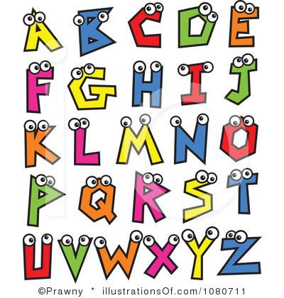400x420 Clip Art Letters