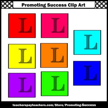 350x350 Letter L, Alphabet Letters Clip Art, Letter Sounds Clipart Sps Tpt