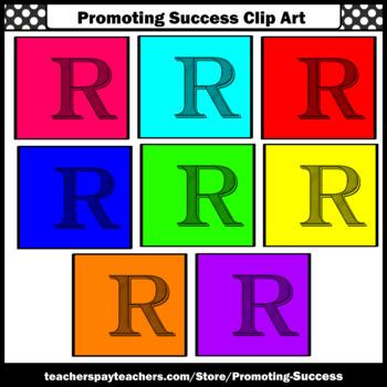 350x350 Letter R, Alphabet Letters Clip Art, Letter Sounds Clipart Sps Tpt