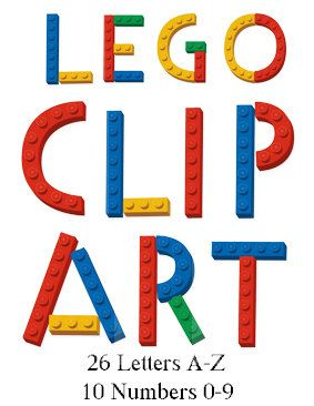 283x366 Alphabet Lego Letters And Numbers On Clipart