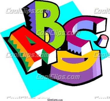 375x344 Clip Art Letters