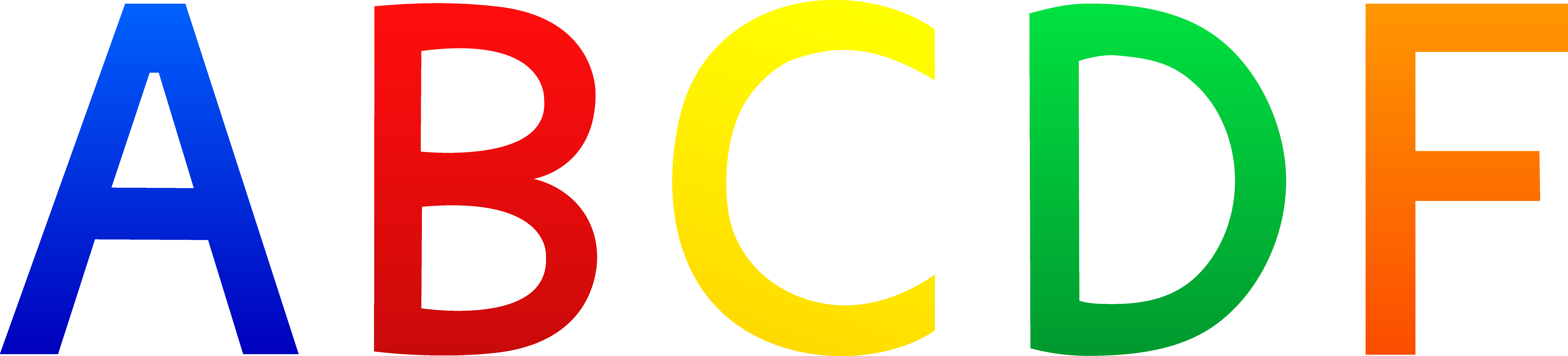Alphabet Letter Clipart
