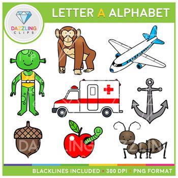 350x350 Alphabet Letter A Clip Art