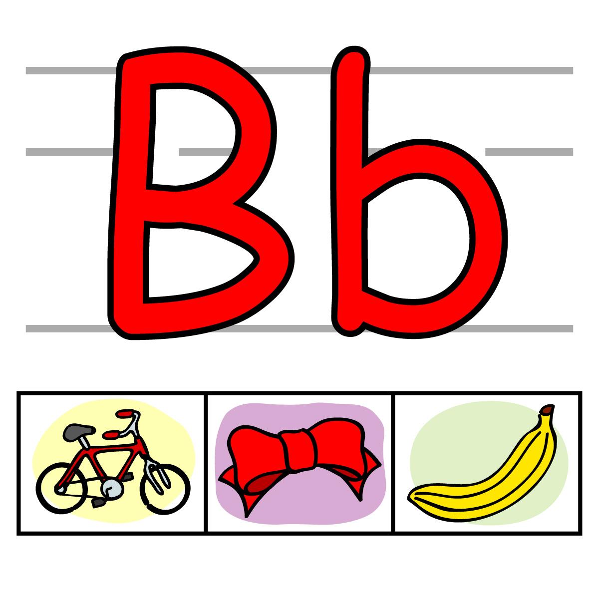 1200x1200 Alphabet Letter B Clipart