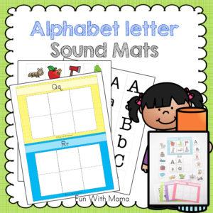 300x300 Alphabet Letter Sound Mats