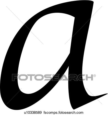 441x470 Clip Art Of , A, Alphabet, Calligraphy, Letter, Lowercase, Script