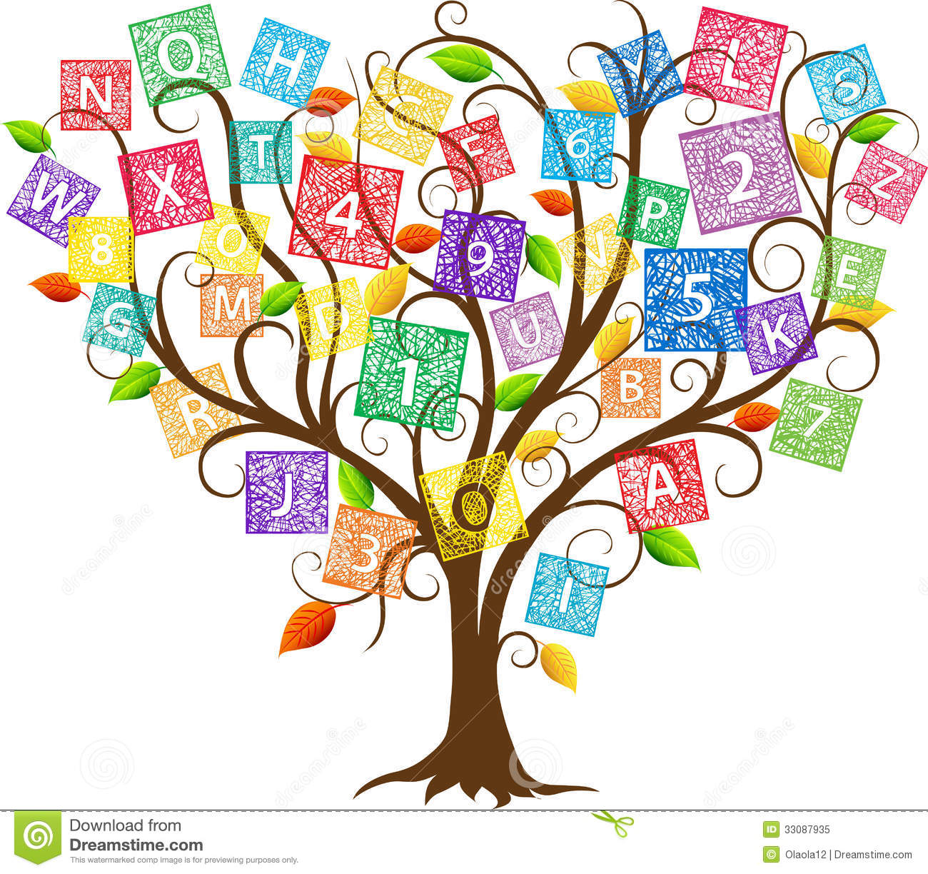 1300x1224 Letter Clipart Tree