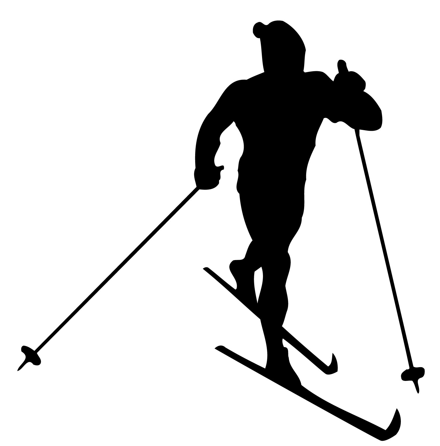 1506x1528 Ski Clipart Skii