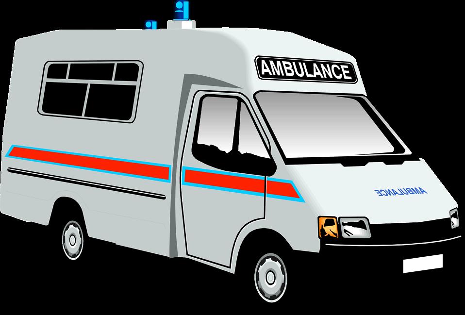 958x649 Ambulance Free Stock Photo Illustration Of An Ambulance