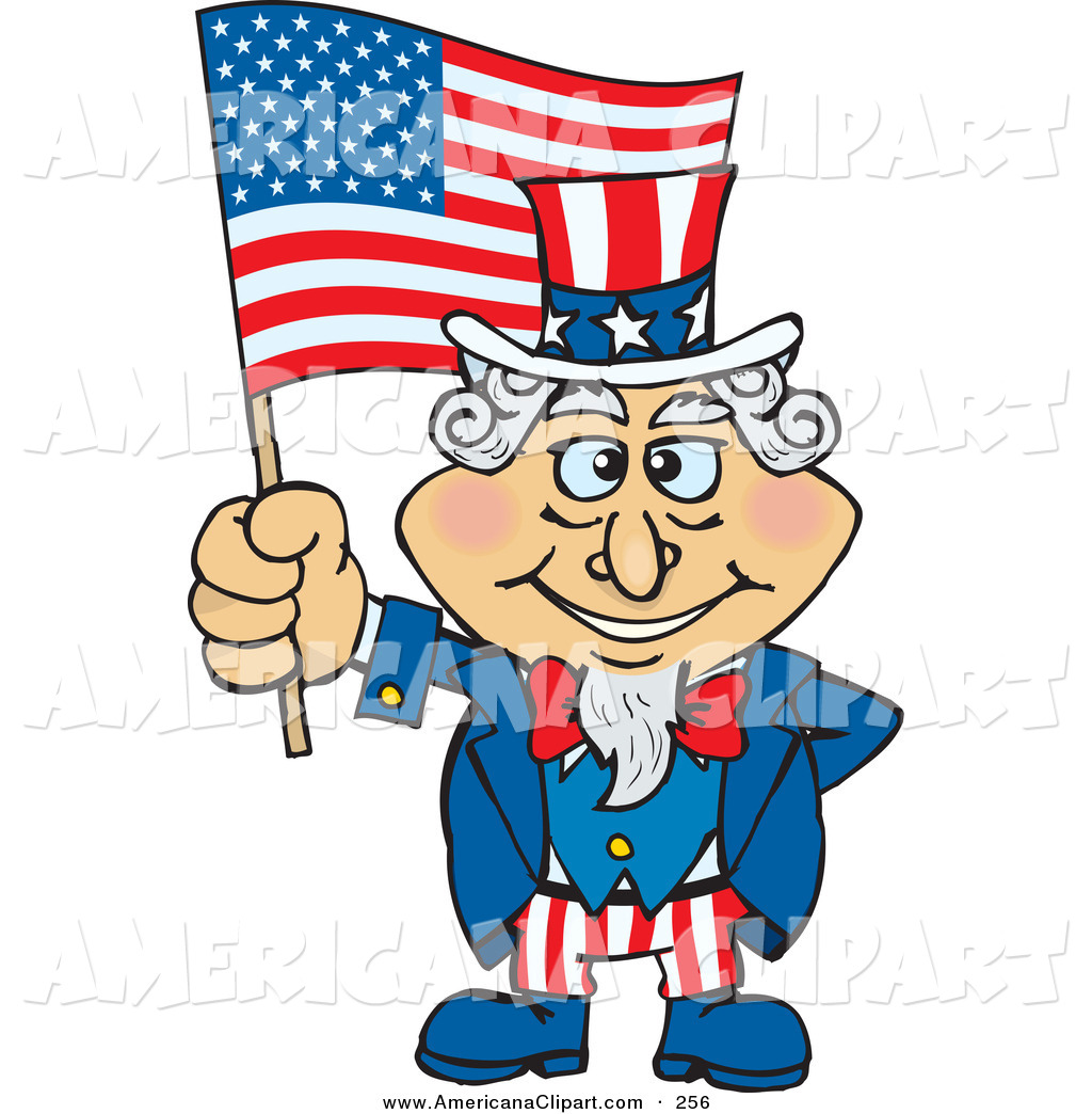 1024x1044 Americana Vector Clip Art Of A Happy Uncle Sam Holding Up