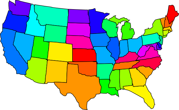 600x371 United States Of America Clip Art