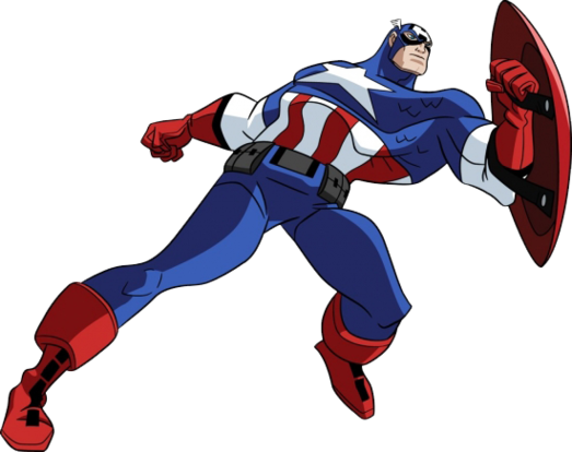523x414 Captain America Clip Art