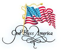 207x172 Free God Bless America American Clipart