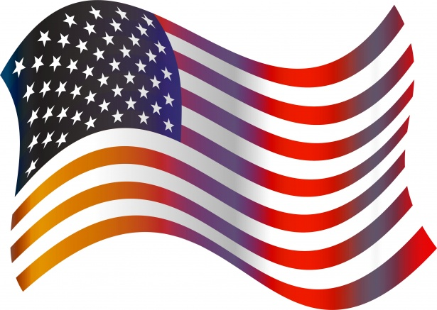 615x437 American Flag Clip Art Free Stock Photo