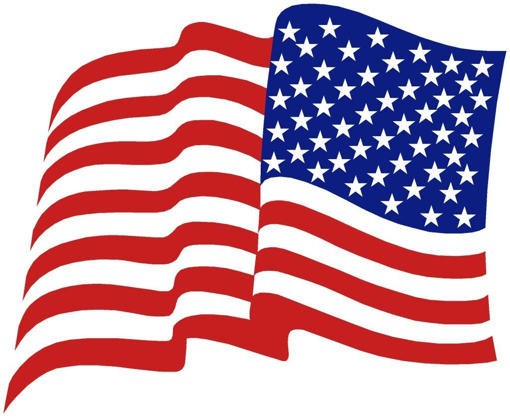 1023x836 Hd American Flag Vector Clip Art Drawing