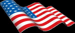 299x132 American Flag Clip Art