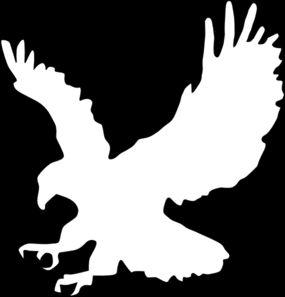 285x297 Best Eagle Outline Ideas Eagle Silhouette