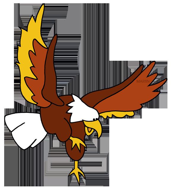 576x648 Colonial America Clip Art By Phillip Martin, American Eagle