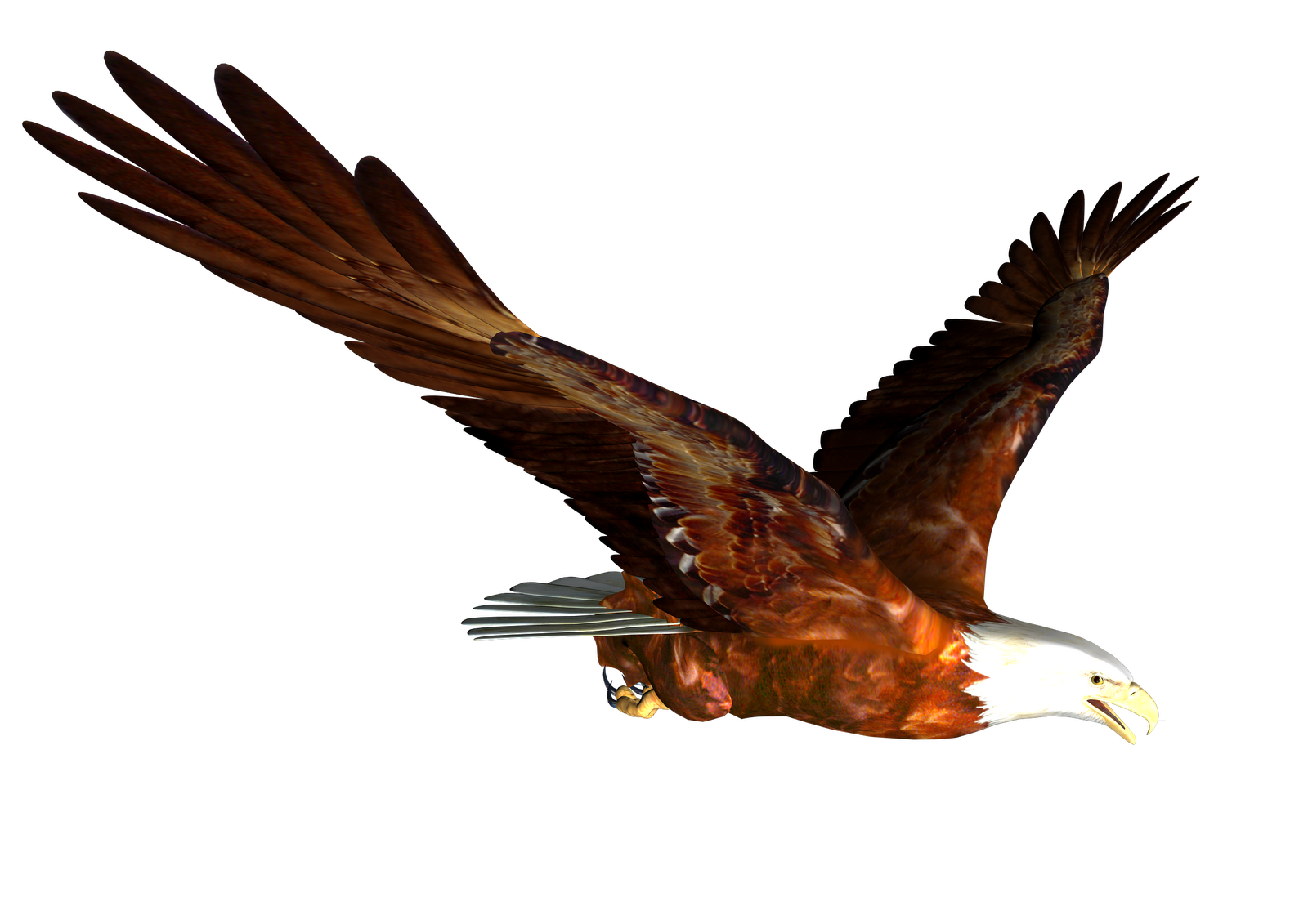 1600x1131 Early American Eagle And Snake Clipart