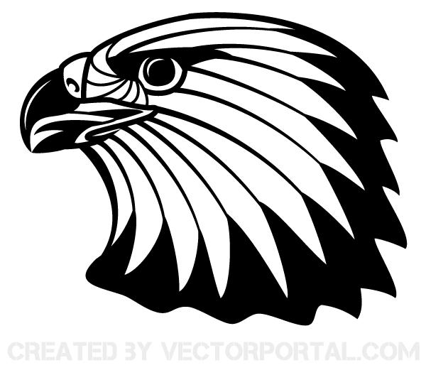 600x521 Free Image Of Eagle Head Clip Art 123freevectors