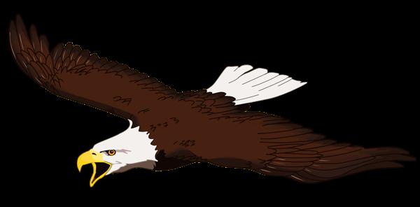 600x296 Free American Eagle Clip Art Patriotic Clipart Clipartix