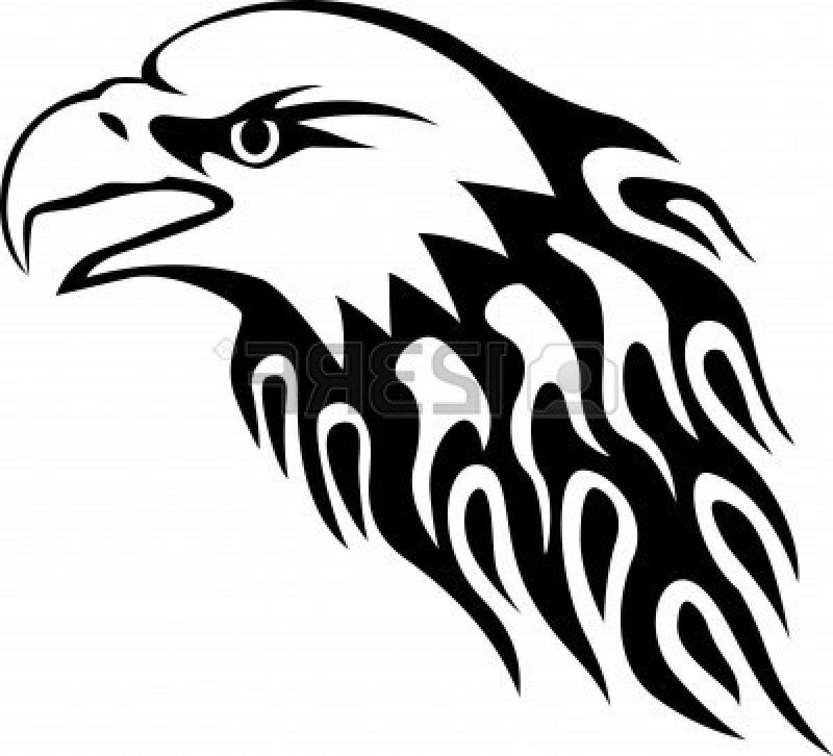 1200x1089 Hd American Eagle Clip Art Black And White Head Design