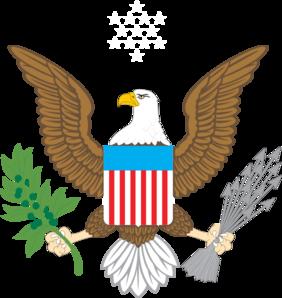 282x298 American Eagle Clip Art