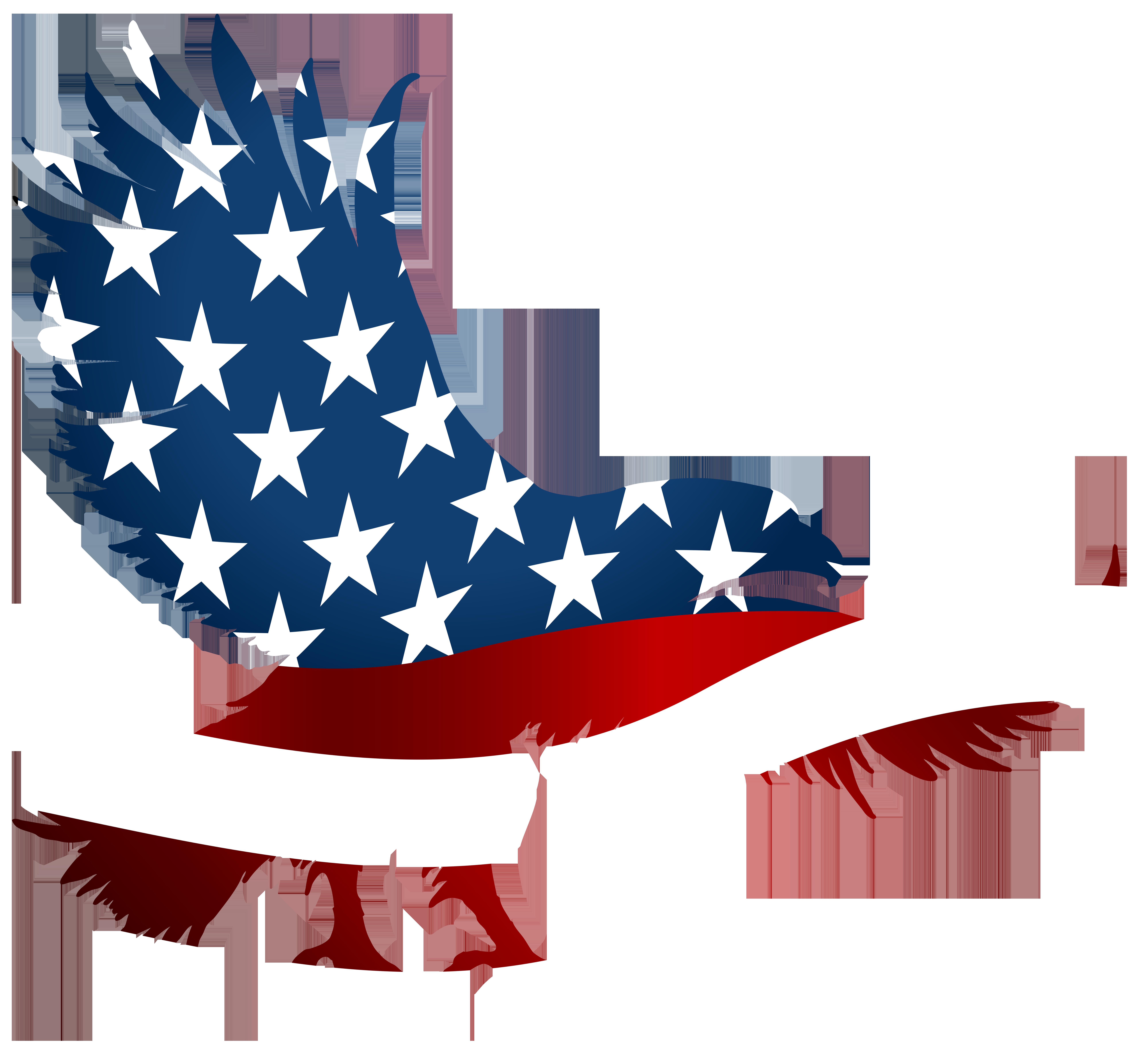 8000x7332 American Eagle Flag Transparent Png Clip Art Imageu200b Gallery