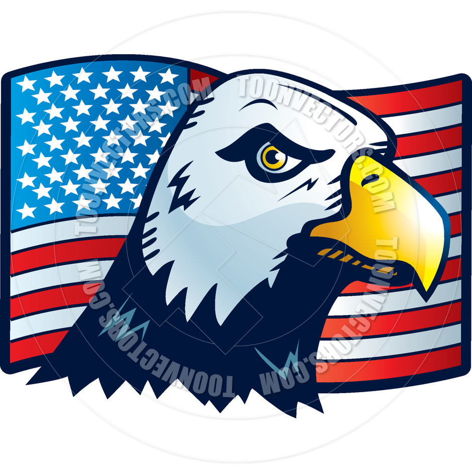 940x940 American Eagle By Cory Thoman Toon Vectors EPS