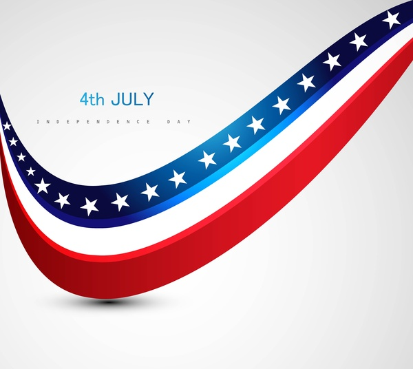 600x536 American Flag 4th July Americandependence Day Free Vector