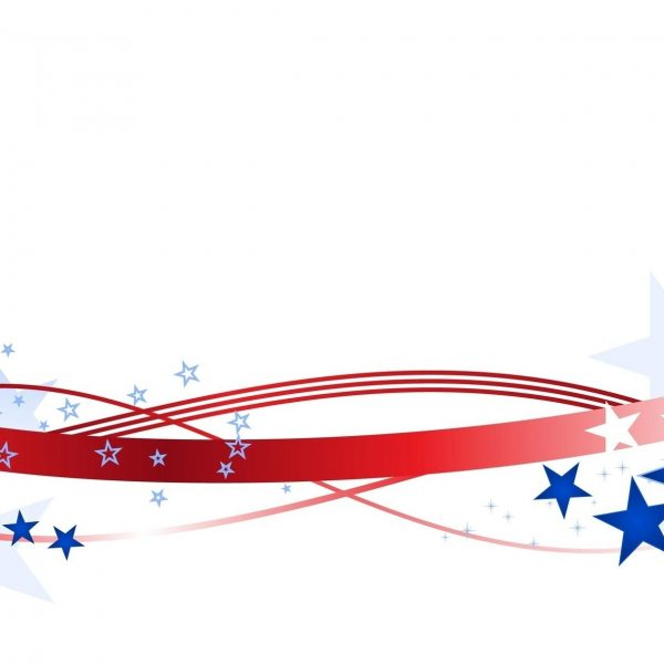 Usa flag banner. American clipart free download