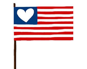 340x270 American Flag Clipart American Symbol