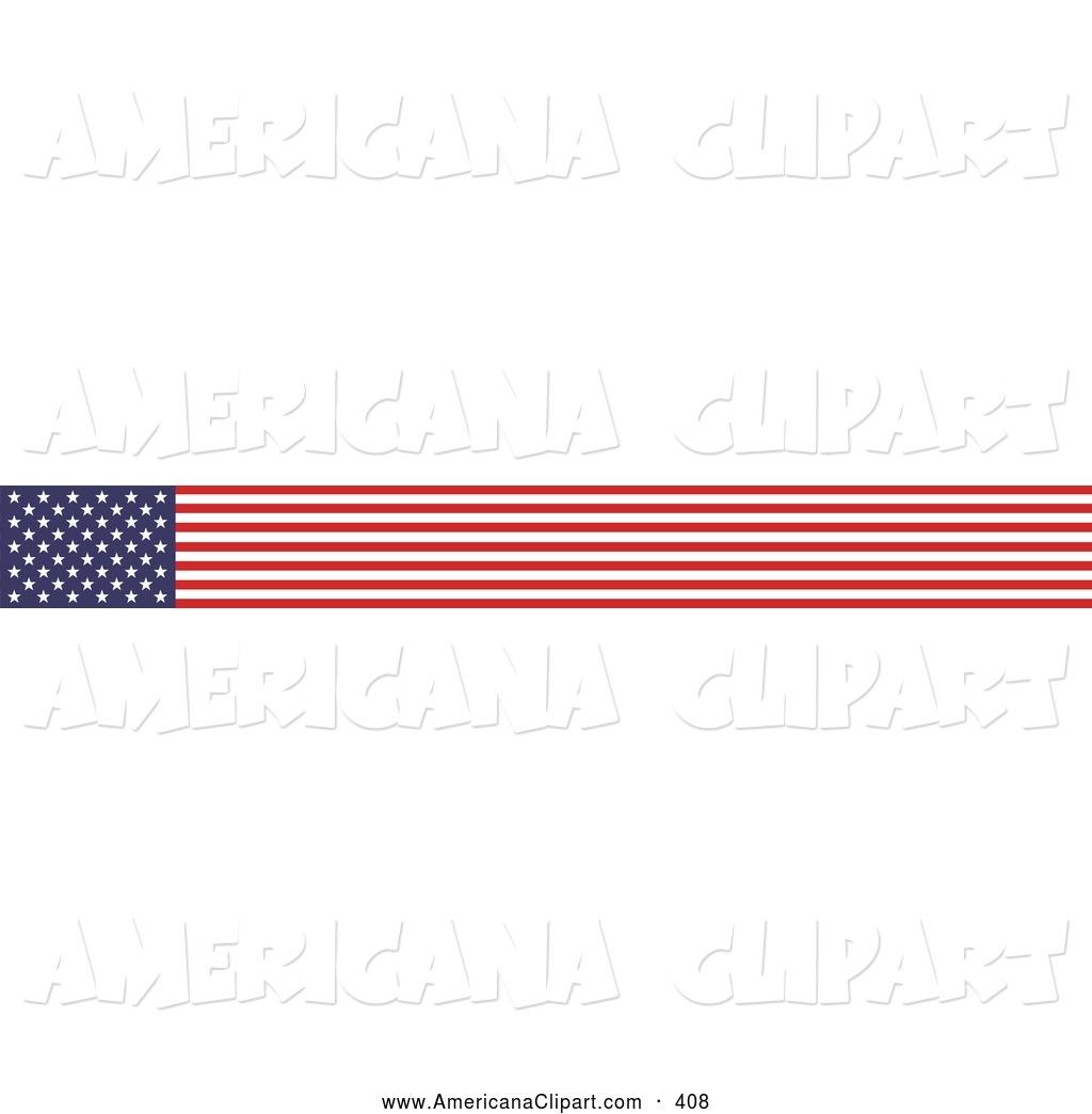 1024x1044 American Flag Clipart Banner