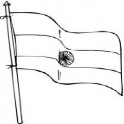 400x400 Flag Clipart Black And White Printable Flags