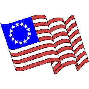 300x300 Flag Clipart American Colonial