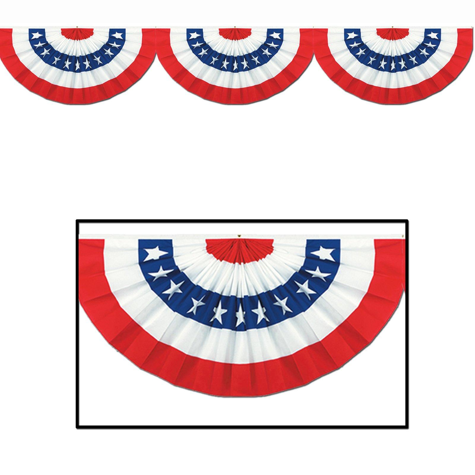 1600x1600 Bunting Clipart American Flag