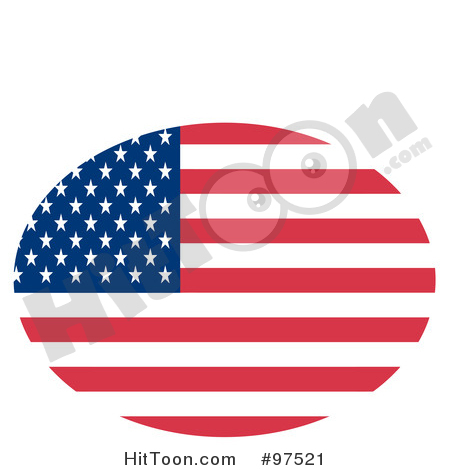 450x470 American Flag Clip Art Free