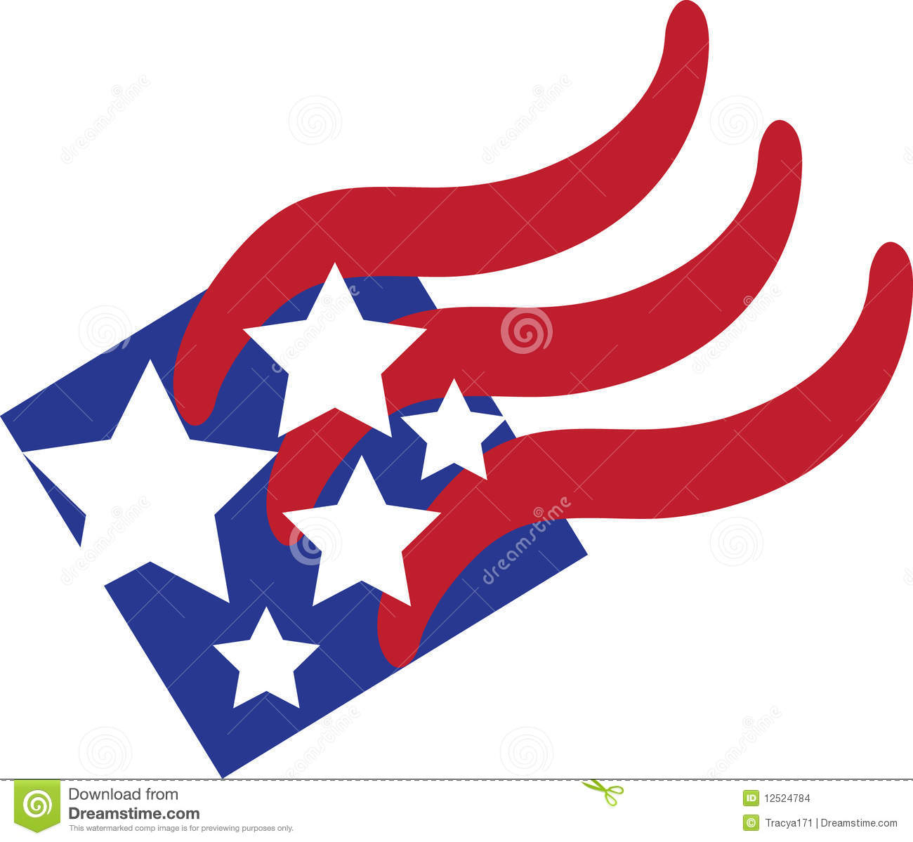 1300x1199 American Flag Clipart Abstract